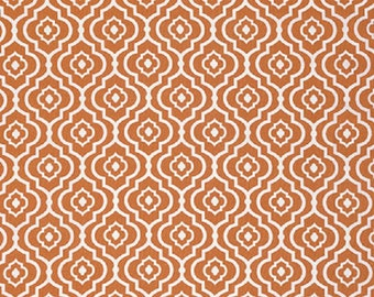 "Dena Designs FreeSpirit  Cotton Fabric ""Sundara Oasis"" Meena Orange  FAT QUARTER"