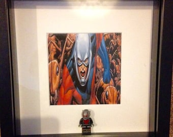 Marvel Ant-Man superhero themed figure frame avengers gift for birthday and other occasions can be personalised