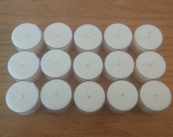 Soy Tea Lights | 15 Pack - Free Shipping