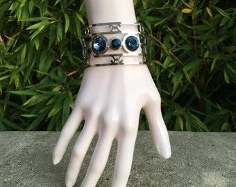 Ethnic Crystal Swarovski Cuff Bracelet