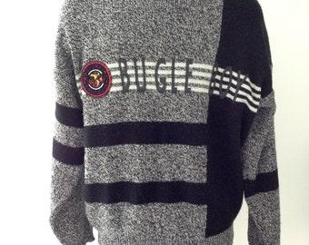 Vintage 90s Bugle Boy Sweater L