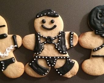 Gingerbread Leathermen