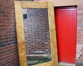 TILLIT - Reclaimed Wood Mirror