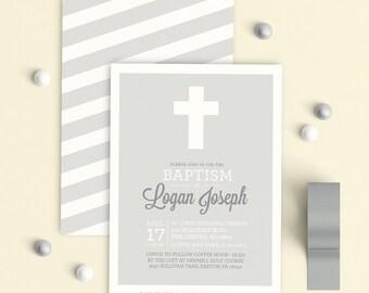 Baptism Invitation Boy, Christening Invitation Boy, Christening invitation, Baptism invitation, Printable Baptism Invitation, Boy Baptism