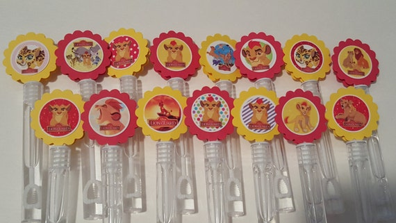 Lion guard inspired mini bubble wands party favors set of 15 for Mini bubble wands