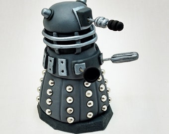 Dr Who Dalek Edible Fondant Birthday Cake Topper