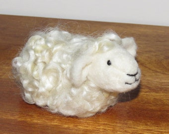 Felted Sheep Curly Sue