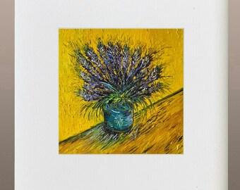 Art Print - Lavender in Vase