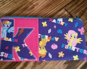 My Little Pony Letter Initial Zipper Pouch