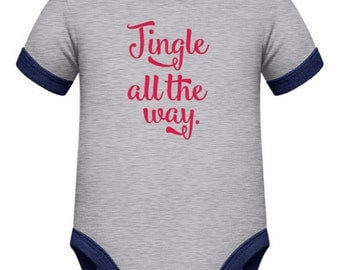 Jingle all the way SVG - Instant Download