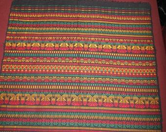 Large Rasta Coloured Woven Tapestry