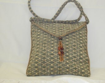 Chenille envelope bag