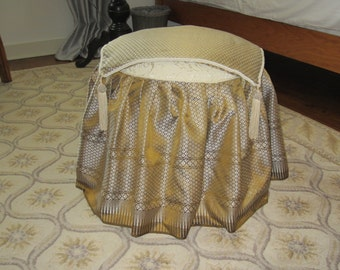 Low table or stool cover-2 pieces