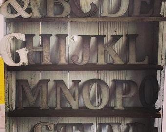 "5 -   6"" Metal Letters"