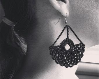 Lace Earring Design - Instant download - Crochet PATTERN (pdf file) – Jewelry - Crochet Earing Design #8/101 Pattern