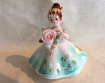 Vintage Josef Original June Pearl girl figurine Giftcraft