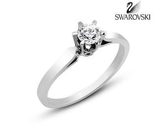 Swarovski Solitaire Ring R1298WW