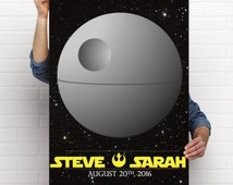 """Star Wars """"Guest Star"""" Guestbook Poster and Sign Printable Files"""