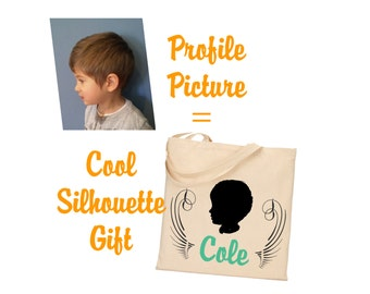 Custom Silhouette Gift Items, Bags, Shirts,Pillow Cover,  Etc.