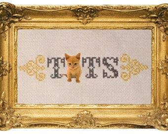Tits Cross Stitch