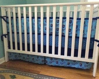 Royals Nursery Bedding (Bumper, Skirt, Sheet, Blanket)