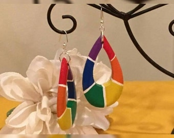 LGBTQ Teardrop Earrings