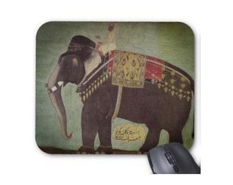 Jeweled Indian Elephant Mouse Pad/Mousepad