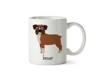 Boxer Mug (girl)