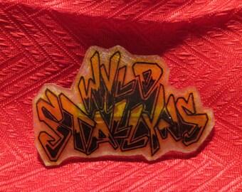 Handmade Wyld Stallyns Pin