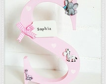 Unique Large Wooden Letters Related Items Etsy