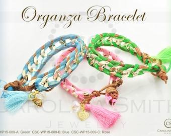 Organza Bracelet by Carolina Smith Jewelry