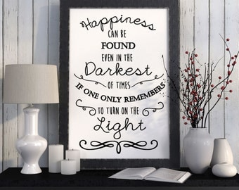 Happiness Can Be Found Vinyl Decal