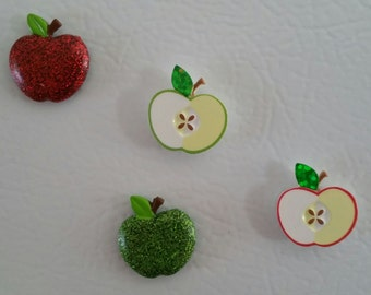 Apple Or Heart Magnets
