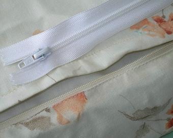"Duvet Zipper – 60"" long - Perfect closure for your duvet cover!"
