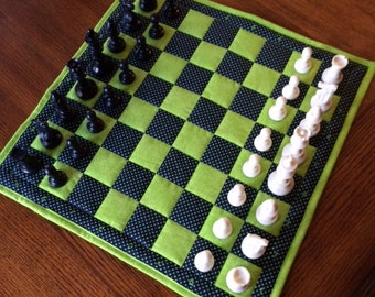 Tournament Chess - board & carring case
