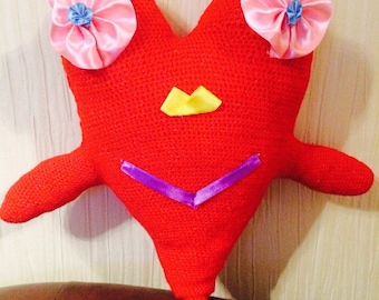 Bug-eyed heart
