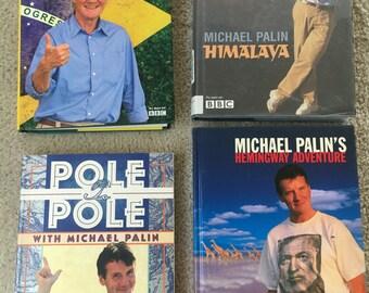 Michael Palin travel books/4 books