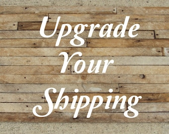 Upgrade Your FREE Shipping To Priority (US Shipping option only)