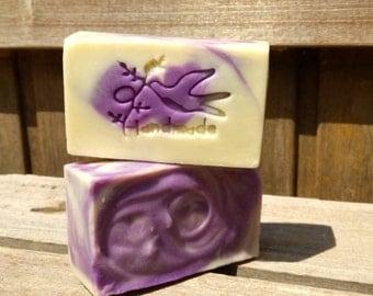 Lavender Travel Soap,  Lavender Guest Soap, Lavender Soap,  Handmade Soap,  Natural Soap, Cold Process Soap/