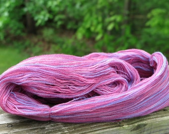 Handpainted Merino Laceweight yarn