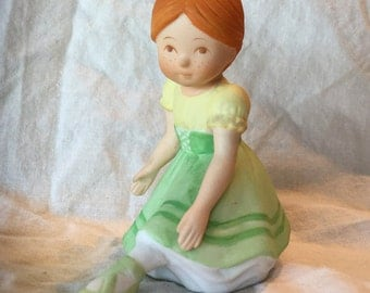 "Holly Hobbie ""Giselle"" Porcelain Figurine, 1985"