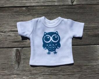 American Girl Doll Owl Shirt 18 Inch Doll Custom Shirt