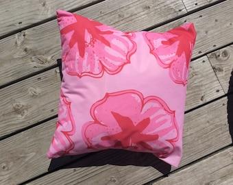 Outdoor cushion 40 x 40 cm. Garden decor. Cherry 1