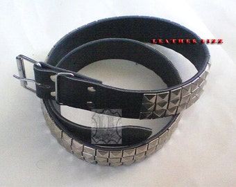 Leather Belts pyramids