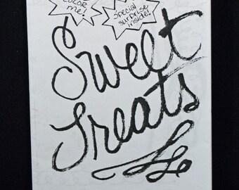 Sweet Treats Activity Zine