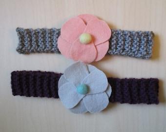 Flower headband/ Headband