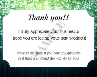 Custom Thank You Cards Notes Vistaprint