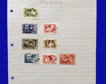 Hungary stamps unusual and pretty