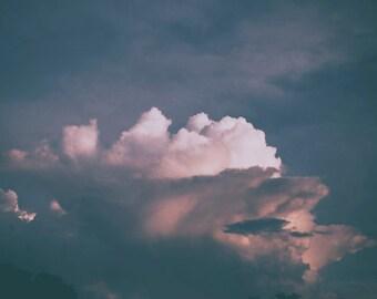 Nature photography print, Cloud photography, sky photography, nature decor