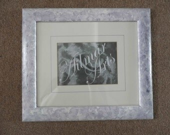Paint effect frame,Picture Frame,24.5 cm by 29.7cm